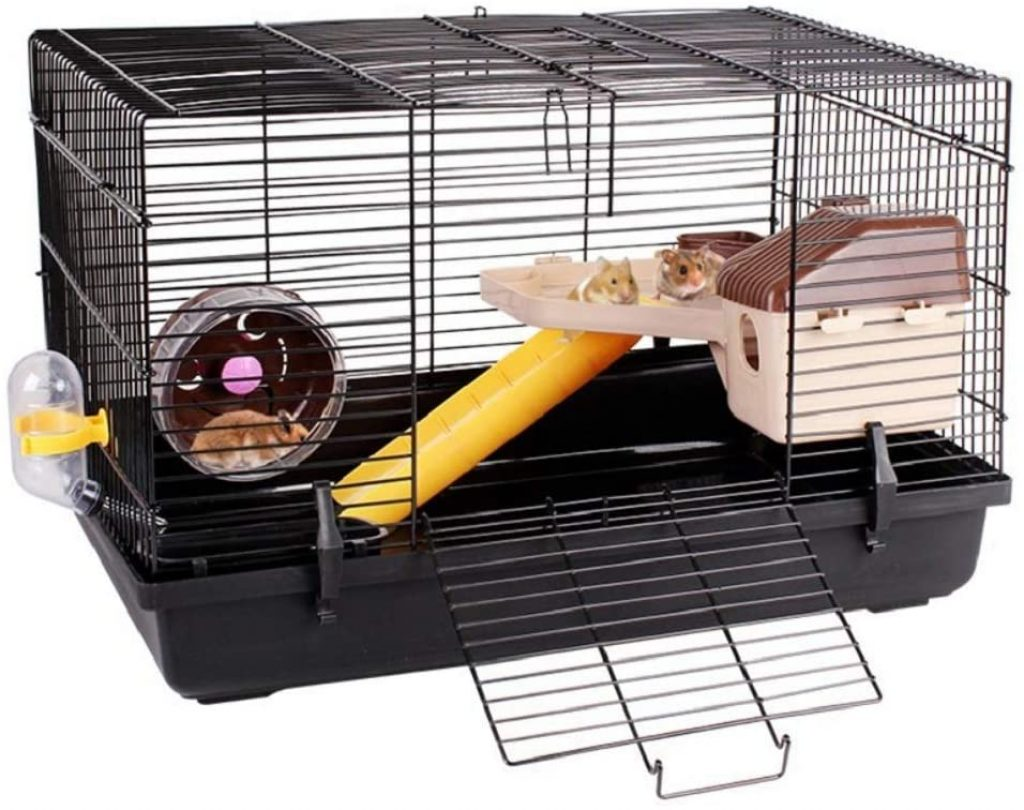 Are hamster cages bad for hamsters?