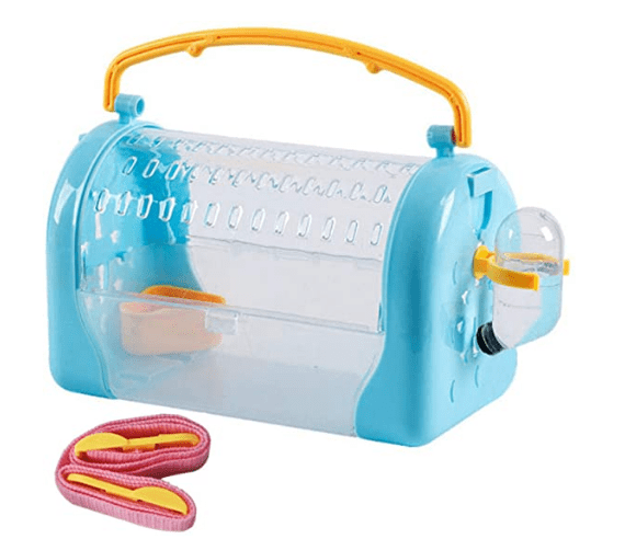 kathson Hamster Cage Travel Carrier Portable