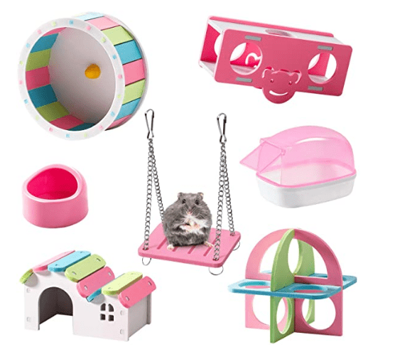 Hamster Accessories 7 Pack