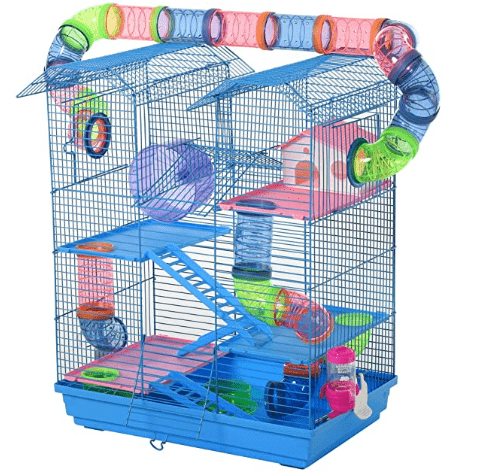 PawHut 5 Tiers Hamster Cage