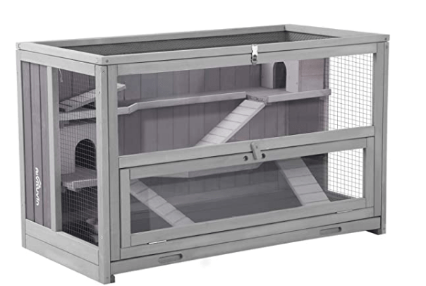 Wooden 3 Tier Hamster Cage, Guinea Pig